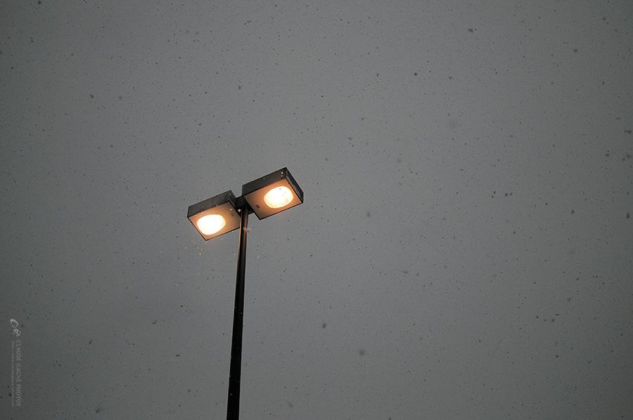 lampadaire par Claude Gagné