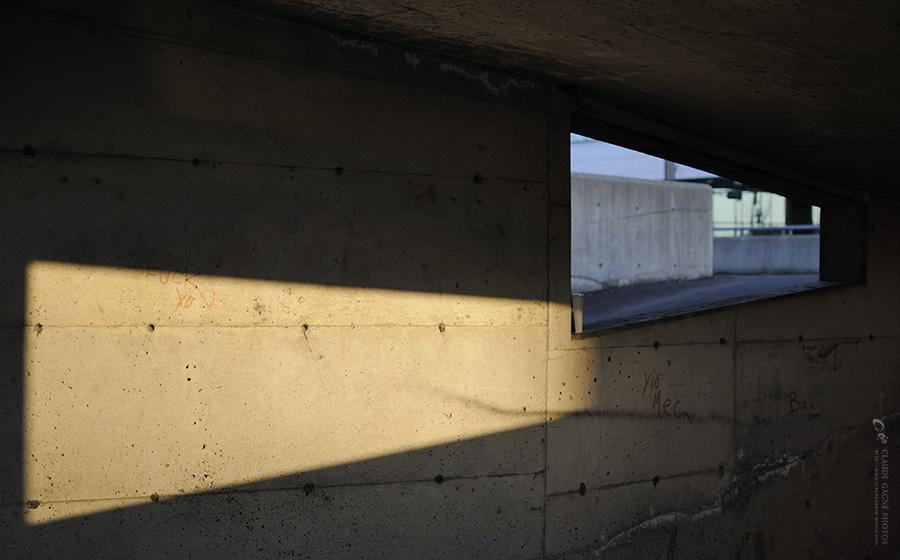 Projection par Claude Gagné