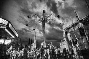Beauce Carnaval en N&B - Claude Gagné