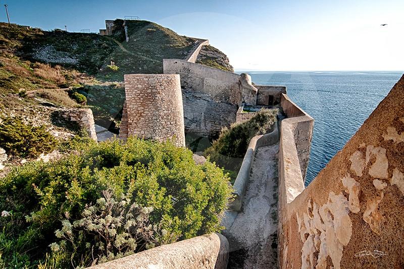 Muraille de la Citadelle de Bonifacio
