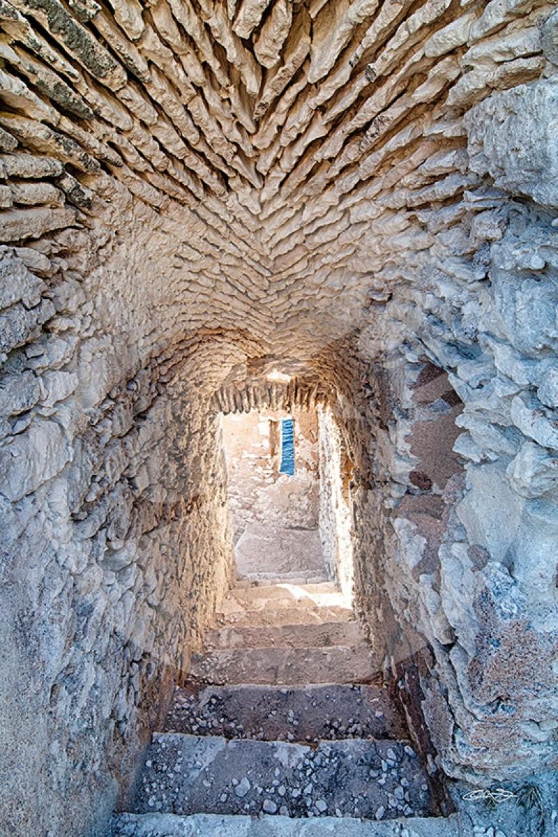 Escalier de la Citadelle de Bonifacio